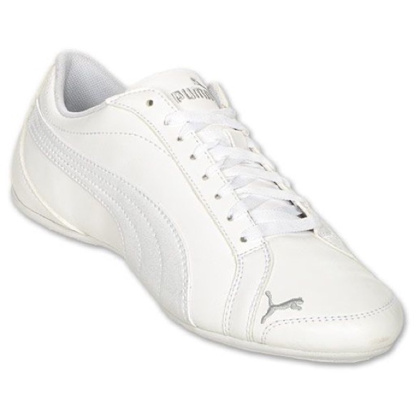 puma White Janine Dance Athletic Sneaker Size 7